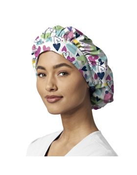 Bold and Brave Bouffant Scrub Cap