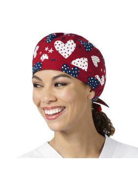 I Love America Scrub Cap