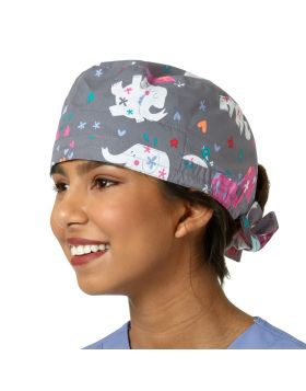 Mary Mack Scrub Cap